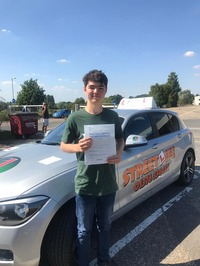 Mini_slyde_cameron_osborne_passed_his_driving_test_first_time_with_only_2_minor_faults_he_also_attended_our_under_17s_driving_academy_www.slyde.eu_well_done.